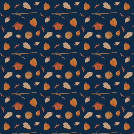 Fabric 12307 | Fall WoodLand