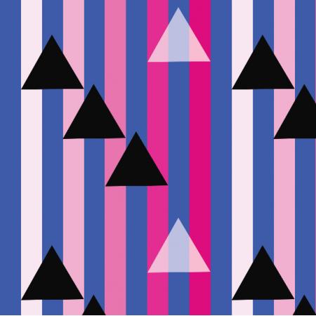 Tkanina 12320 | Geometryczne - mix