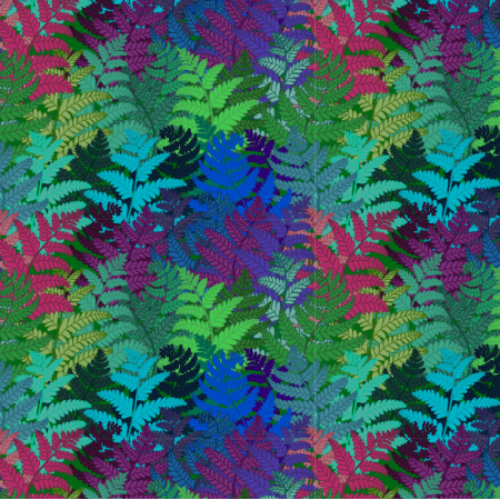 Fabric 12342 | ferns