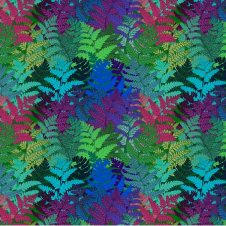 Tkanina 12342 | ferns