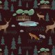 Fabric 12360 | wild forest 1