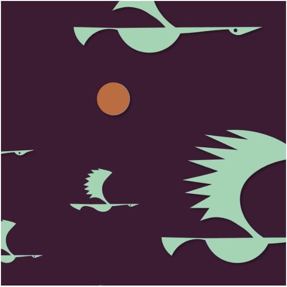 Fabric 12362 | ptaki 1