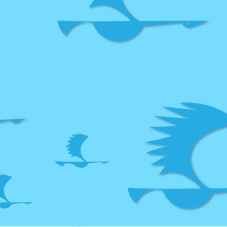 Tkanina 12376 | ptaki 3
