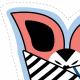 Fabric 12414 | Panele na maskotki do uszycia nietoperze