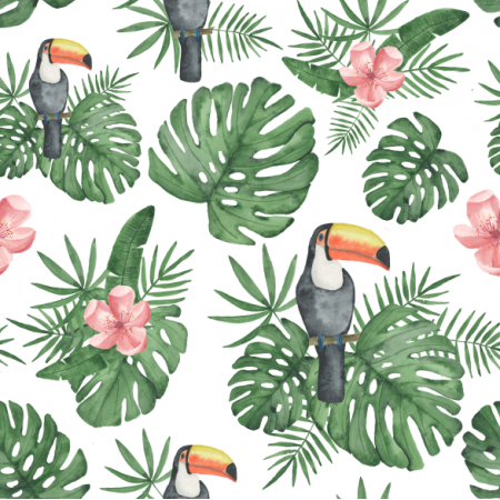 Fabric 12448 | Through The Jungle Tropic