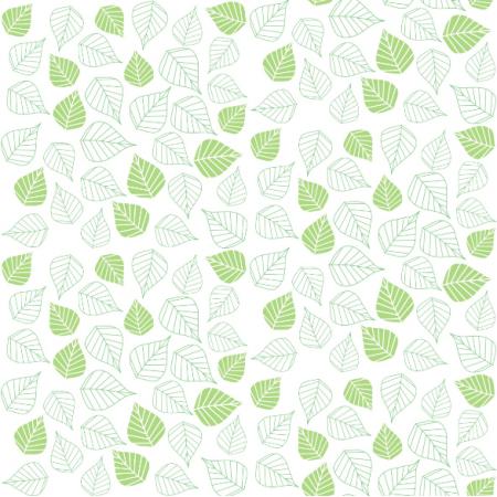 Fabric 12456 | Zielone liście