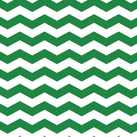 Fabric 12501 | Świąteczny zygzak - zielony