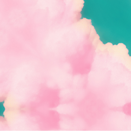 Fabric 12516 | LOLLIPOP CLOUDS