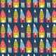Fabric 1429 | holiday houses