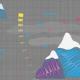 Tkanina 12551 | canvas with mountain