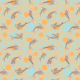 Fabric 12559 | canvas with  japanese fishes 8