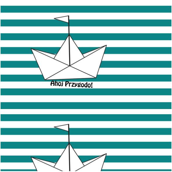 Fabric 12597   AHOJ PRZYGODO