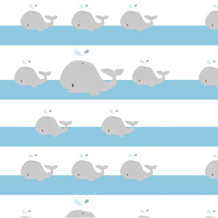 Fabric 12598 | whale