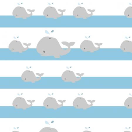 Fabric 12598 | Wielorybki