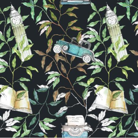 Fabric 12609 | London story