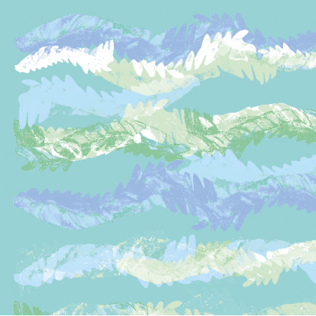 12622 | Pastel waves pattern