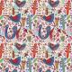 Tkanina  | niebieskie ptaki