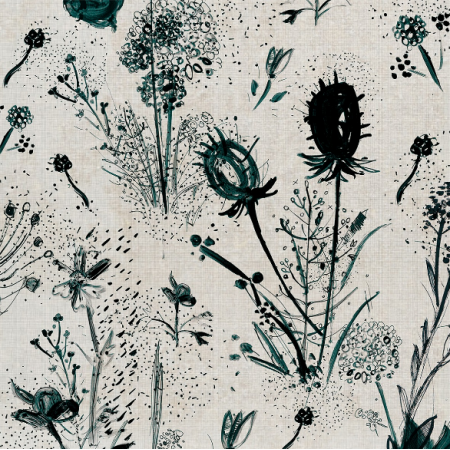Tkanina  | Flowers
