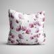 Fabric Pillow panel Poppies
