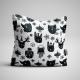 Fabric Pillow panel Scandi Christmas 4