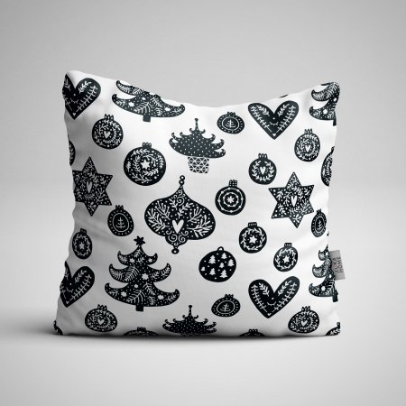 Pillow panel Scandi Christmas 7