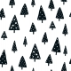 Fabric Bedding/Blanket Scandi Christmas 2