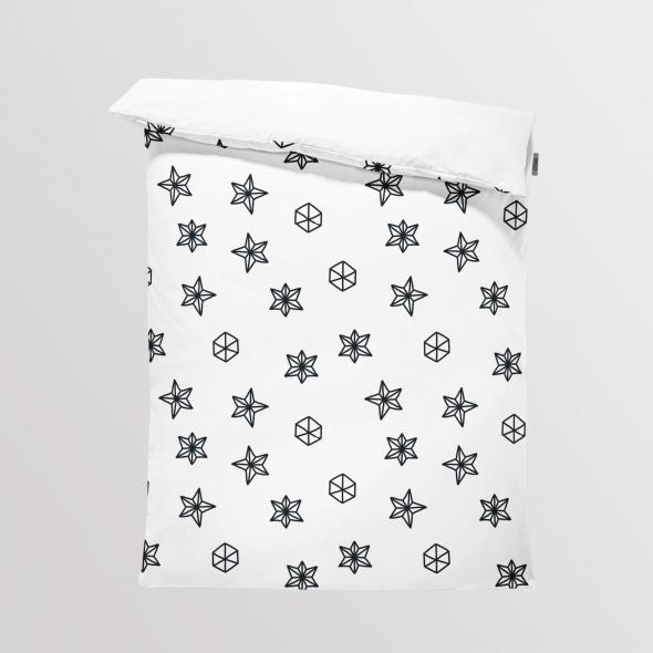 Fabric Bedding/Blanket Scandi Christmas 5