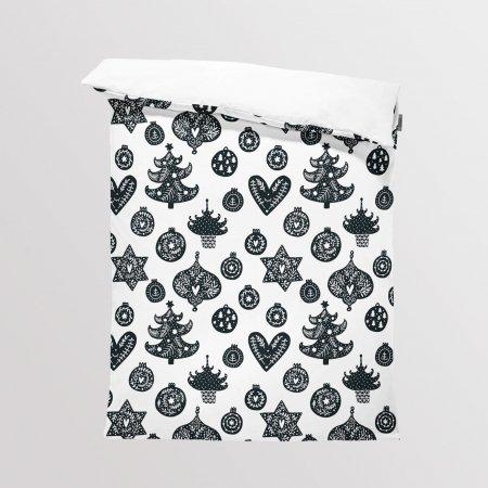 Fabric Bedding/Blanket Panel Scandi Christmas 7