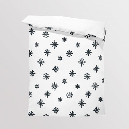 Fabric Bedding/Blanket Scandi Christmas 8