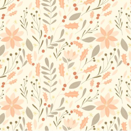 Fabric 12741 | christmas garden