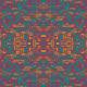Tkanina 12775   Neonowa abstrakcja