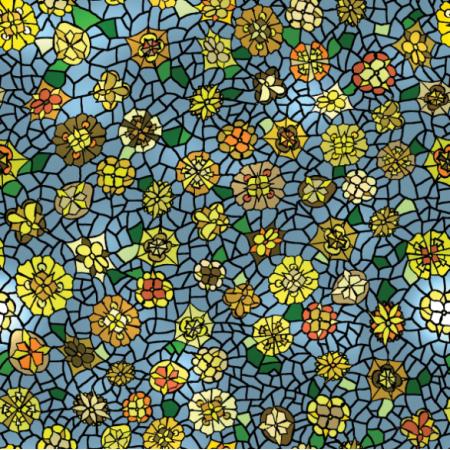 Fabric 12798 | witraż