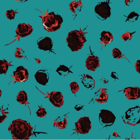Tkanina 12801 | modern rosa