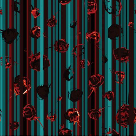 Fabric 12802 | modern rosa stripes
