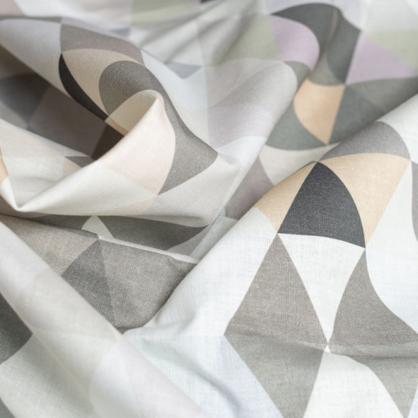 Fabric 150 cm x 100 cm - Off White Cotton