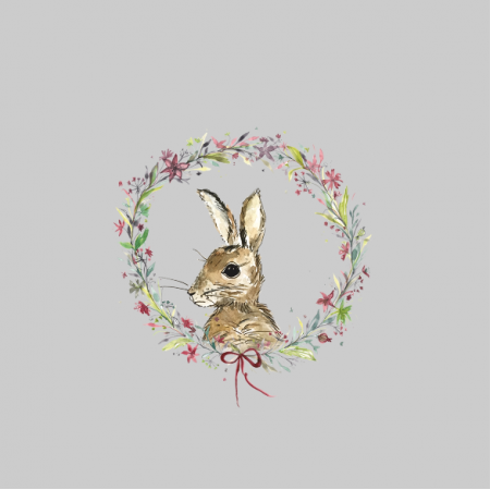 Fabric 12816 | winter rabbit