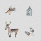 Tkanina 12817   winter mood
