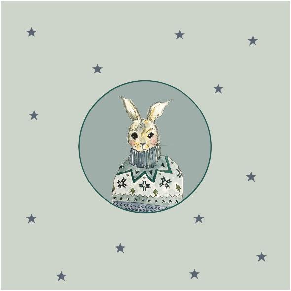 Tkanina 12820 | rabbit style