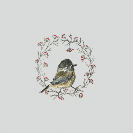 12823 | winter bird