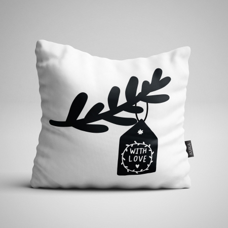 Fabric Pillow panel XLove