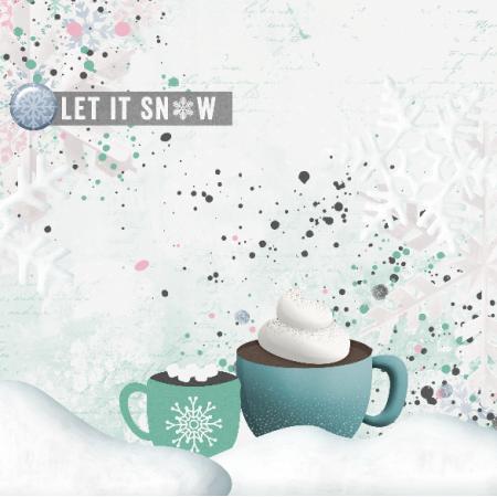 12924 | Let it snow Pillow