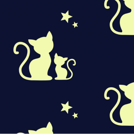 Fabric 12941 | Cats Dreaming