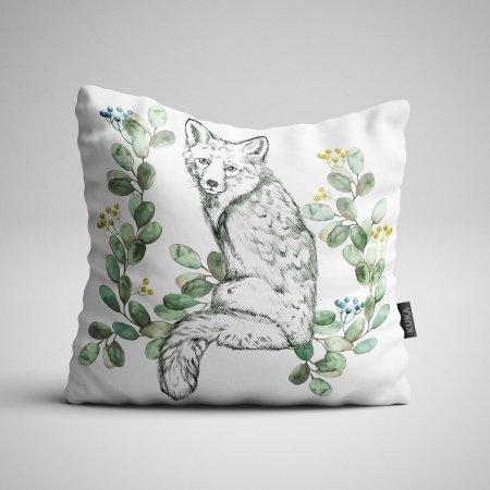 Pillow panel White Fox 2