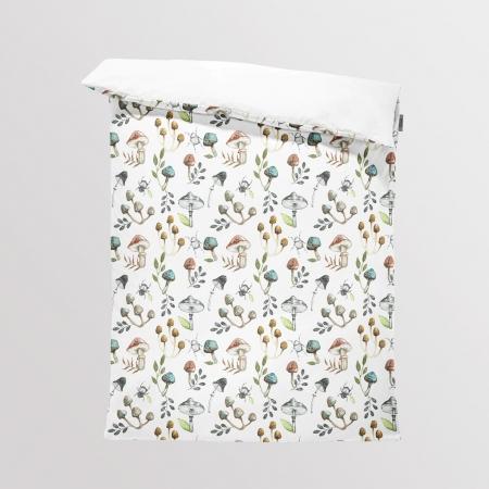 Fabric Bedding/Blanket Mushrooms
