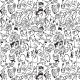Fabric 12974   013-Monsters