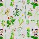 Fabric 12980 | szara łąka