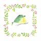 Tkanina 13039 | dream bird pillow