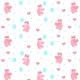 Fabric 13043   Lovely Bears (white night)