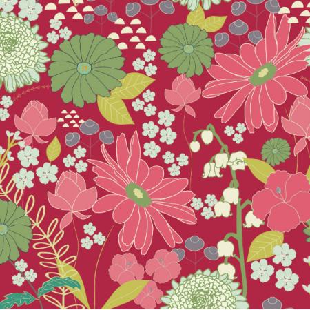 Fabric 1475 | daisy