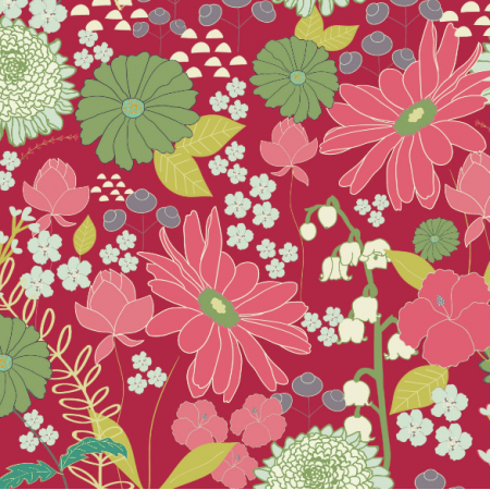 Tkanina 1475 | daisy